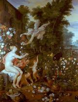 Peter Paul Rubens - Flora and Zephyr