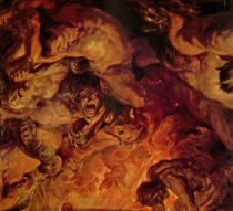 Peter Paul Rubens - The Day of Judgement / detail