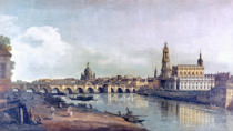 Bernardo Bellotto - Dresden seen from the right bank of the Elbe