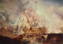 Joseph Mallord William Turner - Die Schlacht bei Trafalgar