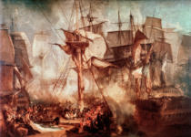 Joseph Mallord William Turner - Battle of Trafalgar / Turner / 1806
