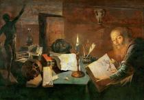 David Ryckaert III - The alchemist