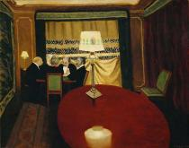 Felix Edouard Vallotton - Poker