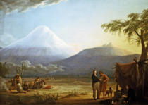 Friedrich Georg Weitsch - Alexander von Humboldt and Aime Bonpland in the valley of Tapia on the foot of the vulcano Chimborazo