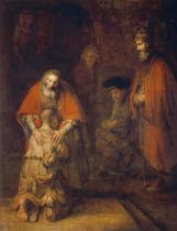 Harmensz van Rijn Rembrandt - The Return of the Prodigal Son