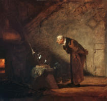 Carl Spitzweg - The Alchemist