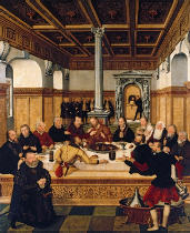 Lucas Cranach der Jüngere - The Last Supper
