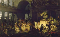 Hendrik Siemiradzki - Roman Orgy in the Time of the Caesars.