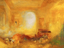 Joseph Mallord William Turner - Interior at Petworth