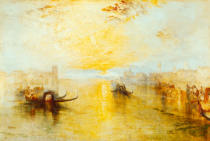 Joseph Mallord William Turner - St. Benedetto, looking towards Fusina