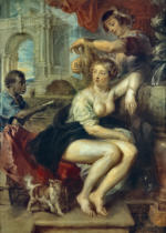 Peter Paul Rubens - Bathseba am Springbrunnen, den Brief Davids erhaltend