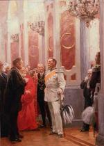 Anton Alexander von Werner - The Crown Prince at a Court Ball