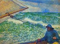 Theodore van Rysselberghe - The man at the helm