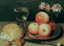 Georg Flegel - Stilllife with apples