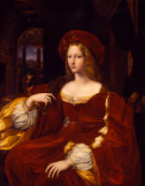 Raffael - Giovanna of Aragon, wife of Count Ascanio Colonna, Constable of the Kingdom of Naples