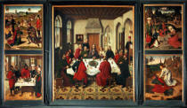 Dieric Bouts - Altar of Last Supper / Bouts / 1464/67