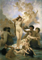 William-Adolphe Bouguereau - Naissance de Venus