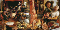 Pieter Aertsen - The sumptuous kitchen