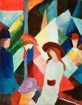 August Macke - Schaufenster