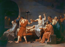 Jacques-Louis David - Der Tod des Sokrates