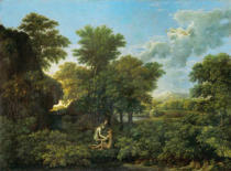 Nicolas Poussin - Spring or paradise on earth