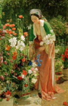 John Frederick Lewis - In the Bey's Garden in Asia Minor