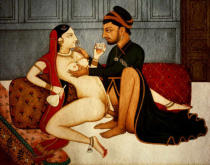 AKG Anonymous - Lovers / Tantra-Art 18./19th century