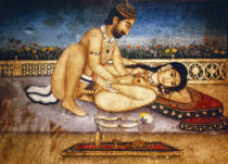 AKG Anonymous - Lovers / Tantra-Art, 18th/19th century