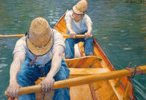 Gustave Caillebotte - Canotiers