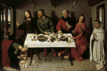 Dieric Bouts - Christ in the house of the Pharisee Simon