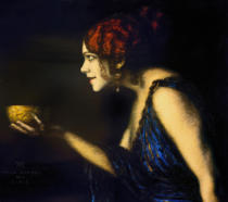 Franz von Stuck - T.Durieux as Circe / F.v.Stuck / 1912/13