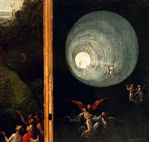 Hieronymus Bosch - The Ascension into the Heavenly Paradise