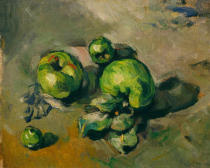 Paul Cézanne - Green apples