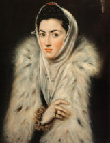 El Greco - The Lady with the fur