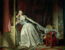 Jean-Honore Fragonard - The secret kiss