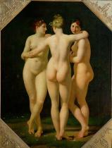 Jean-Baptiste Regnault - The Three Graces