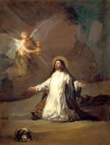 Francisco José de Goya y Lucientes - Christus am Ölberg