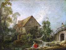 François Boucher - Le moulin
