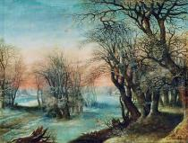 Denis van Alsloot - Winterlandschaft