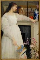 James Abott McNeill Whistler - Symphony in White No.2