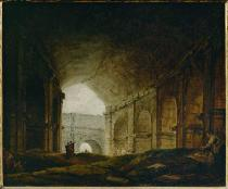 Hubert Robert - Rome /Colosseum/Interior/by H.Robert/C18
