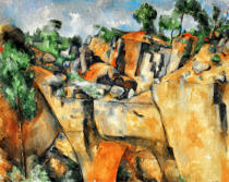 Paul Cézanne - La carriere de Bibemus