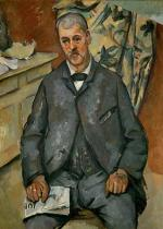 Paul Cézanne - Homme assis