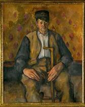 Paul Cézanne - Paysan assis
