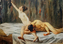 Max Liebermann - Samson and Delilah
