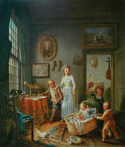 Willem Joseph Laquij - Family Portrait