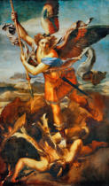 Raffael - St.Michael kills the demon