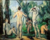 Paul Cézanne - Bathers in the open air