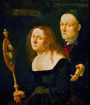 Lukas Furtenagel - The painter Hans Burgkmair and his wife Anna