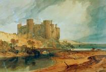 Joseph Mallord William Turner - Conway Castle